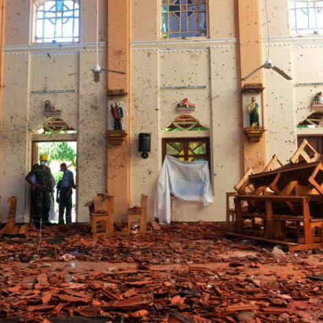 REPORT: Sri Lanka Officials Warned 'Weeks' in Advance of Terror Plot Against Churches