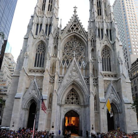 DEVELOPING: Suspect with 'Gas Cans' Arrested Trying to Enter NYC's St. Patrick's Cathedral