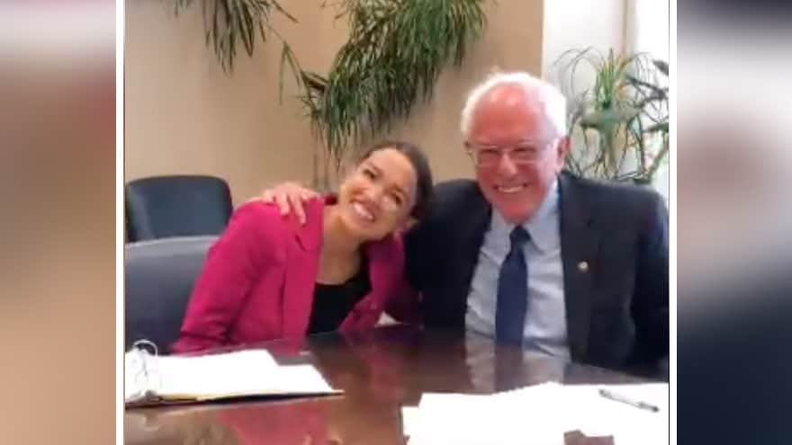 Partner Content - Socialists Unite! Bernie Says AOC Will Play 'Very Important' Role in His...