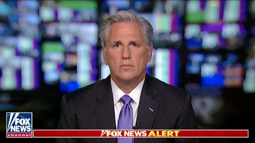 Partner Content - KEVIN McCARTHY: GOP Lawmakers 'Destroyed' Impeachment Inquiry Witness Cl...