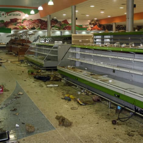 VENEZUELA CRUMBLES: Crime Drops as Currency Becomes 'Worthless,' Food Supplies Nearly Gone