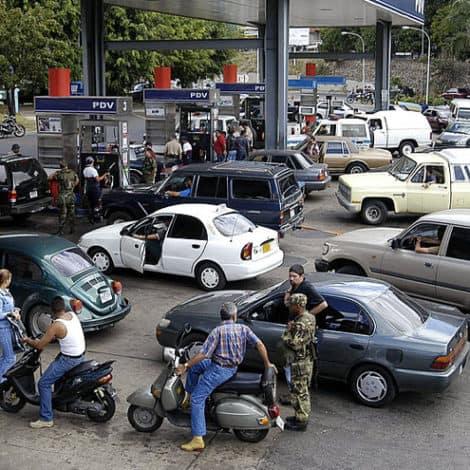 SOCIALIST PARADISE: Mile-Long Gas Lines Form in Oil-Rich Venezuela, Wait Time 24 Hours+