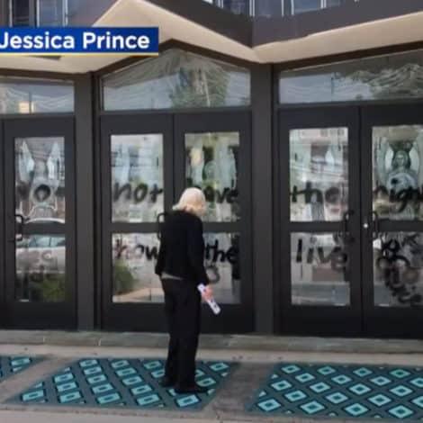 REPORT: Suburban Philadelphia Church Vandalized with Pro-Abortion Graffiti as Debate Heats-Up