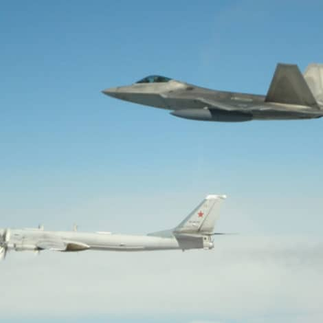 COLD WAR 2? US Stealth Fighter Jets Intercept Four Russian Bombers off Coast of Alaska