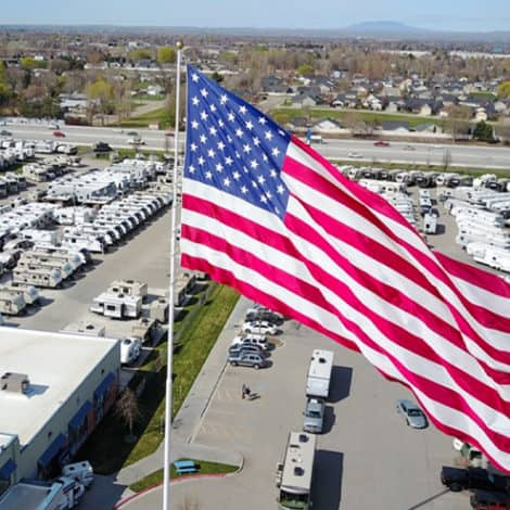 PROUD PATRIOTS: North Carolina Store Facing $11,000 IN FINES for Flying Huge American Flag