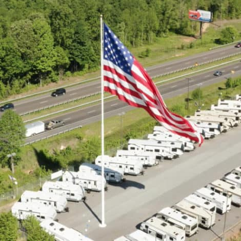 STANDING PROUD: Camping World CEO Refuses to Take Down US Flag 'Under Any Circumstance'