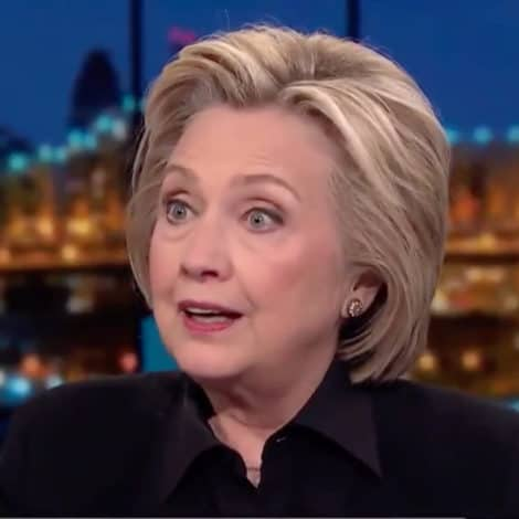 SHE'S BACK! Hillary Clinton Says Russia 'SUCCEEDED' in Stealing 2016 Election