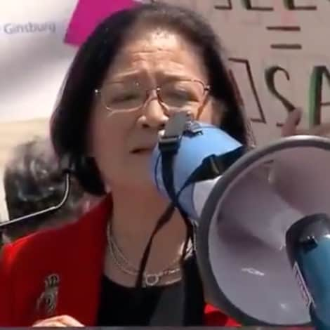 WATCH: Sen. Mazie Hirono Says She Spoke with 8th Grade Students About their 'Abortion Rights'