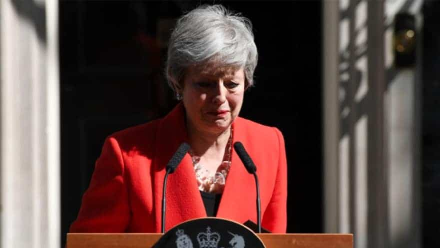 Partner Content - END OF MAY: British Prime Minister Theresa May Quits After Brexit Breakdown