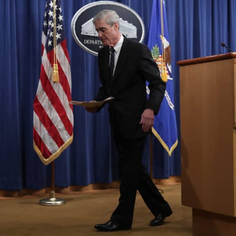 IT'S OVER: Robert Mueller Closes Special Counsel's Office, Retires from DOJ, Will Not Testify