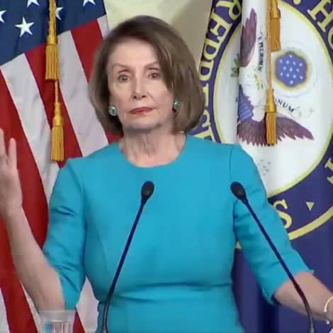 WHAT'S WRONG WITH NANCY? Pelosi Delivers Rambling Speech on Immigration, Says 'Merit Not Merit'