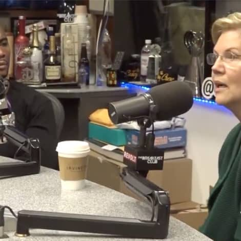 CAUGHT OFF GUARD: Warren Gets GRILLED by 'The Breakfast Club' on Native American Scandal