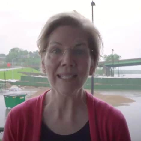 WARREN IN IOWA: Forget Midwest Droughts, FLOODS Now Proof of Climate Catastrophe
