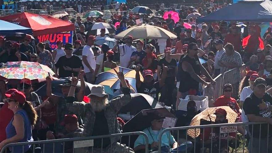 Partner Content - '45 FEST': More than 100,000 People Hope to Hear Trump Speak, Atmosphere Like 'Woodstock'