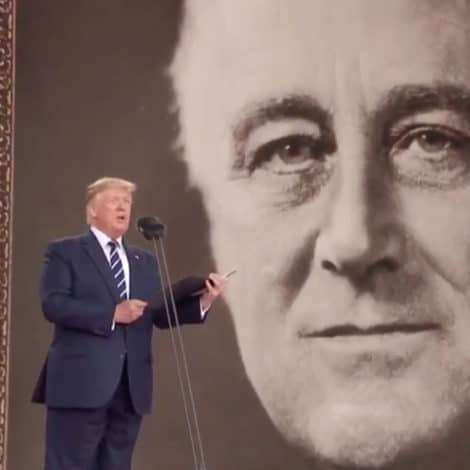 HISTORIC MOMENT: Watch President Trump Read Roosevelt's D-Day Prayer at 75th Anniversary Commemoration