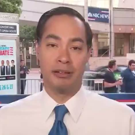 WASN'T HE THERE? Julian Castro Forgets Debate, Says 'Nobody Has Called for Open Borders'