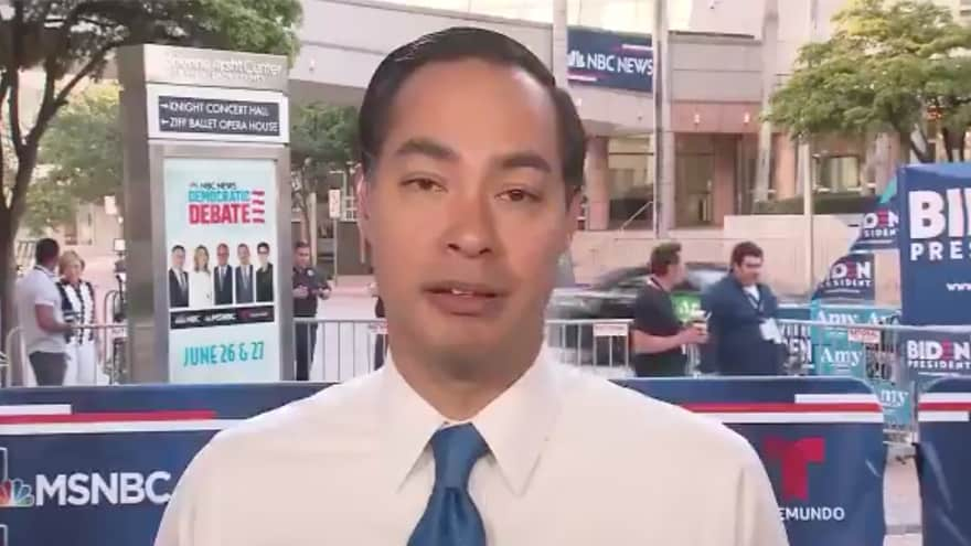 Partner Content - WASN'T HE THERE? Julian Castro Forgets Debate, Says 'Nobody Has Called for Open Borders'