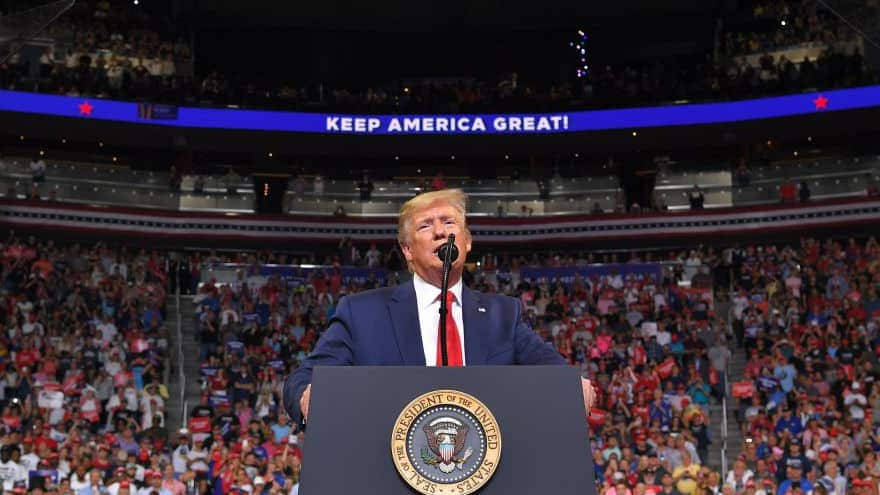 Partner Content - MEGA MAGA: Donald Trump Raises $24 MILLION in First 24 HOURS of 2020 Campaign