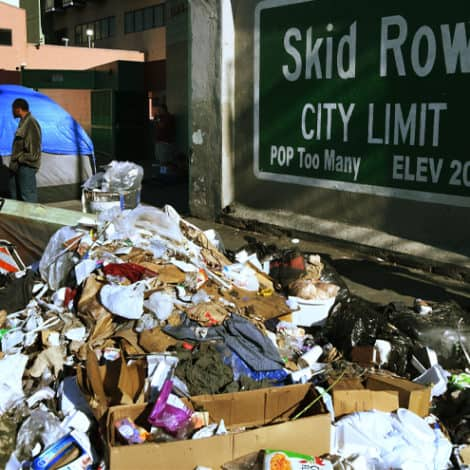 'BREAKDOWN OF CIVILIZATION': LA Times SLAMS City Officials over Homeless Crisis, Rat Invasion, Garbage Piles