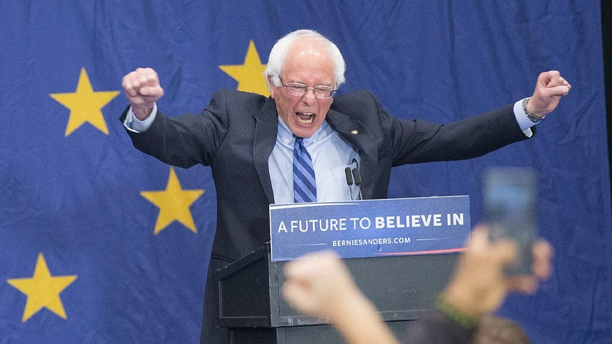 Partner Content - SANDERS RISING! Bernie Now Tied with Biden in Latest National Poll