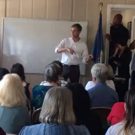 BETO'S BIG FAIL: Beto O'Rourke Speaks to Crowd of 20 PEOPLE on the Campaign Trail