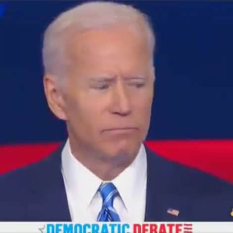 IN YOUR FACE: Biden Gets a 'First-Hand Look' at Bernie's 'Unique' Speaking Style