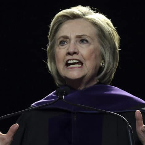 NOT A JOKE: Hillary Clinton Says No One in the United States of America is 'Above the Law'