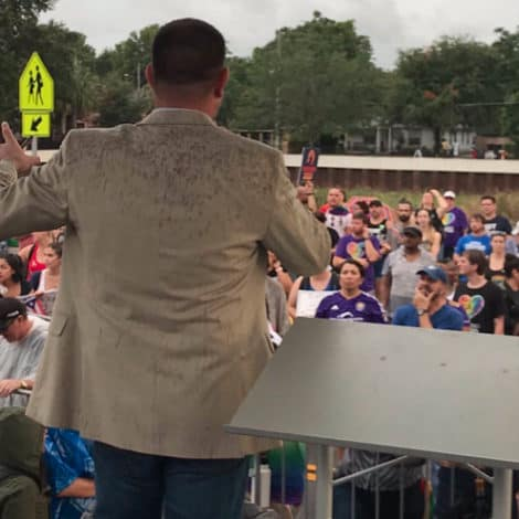 LOW ENERGY: Florida Dems Hold 'Dump Trump Rally' in Orlando to 'Hundreds' of Supporters