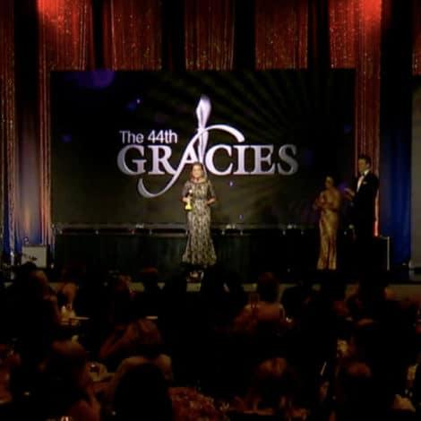 WATCH: Lynda Accepts 2019 Gracie Award for Best Radio Producer