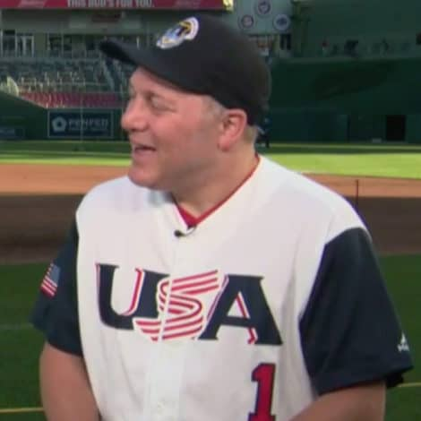 BACK AT BAT: Steve Scalise Ready to Play Congressional Baseball Game Two Years After Assassination Attempt