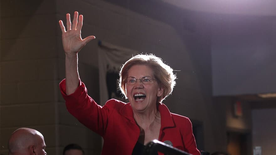 Partner Content - PRESUMPTION OF GUILT? Warren Says Trump Must 'Prove He Didn't Do Anythin...