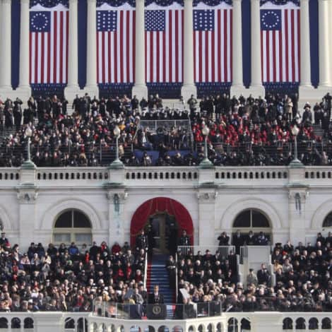 JUST BLEW IT! Betsy Ross Flag Deemed 'PAINFUL' Was Used Extensively During Obama's INAUGURATION