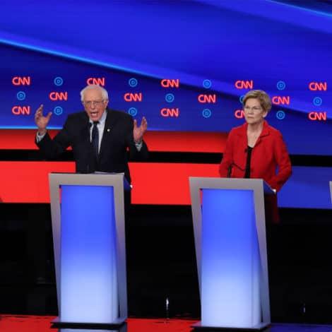 FIGHT NIGHT ROUND 1: Progressives, Moderates Square Off in Democratic Debate Night One