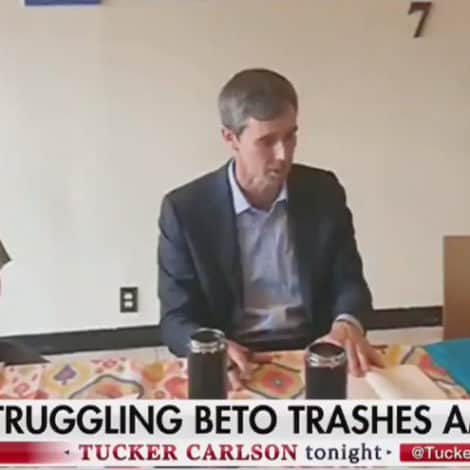BETO EXPLODES: O'Rourke Tells Immigrants USA Founded on 'White Supremacy,' ALL Institutions 'Reflect Slavery'