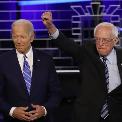 GLOVES OFF: Bernie RIPS Biden, Says 'Wrong Big Time' on War in Iraq, Wall Street