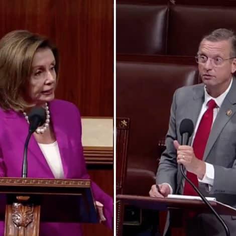 CHAOS ON THE FLOOR: Rep. Collins Interrupts Pelosi's Anti-Trump Speech, Demands Her Words 'Be Taken Down'