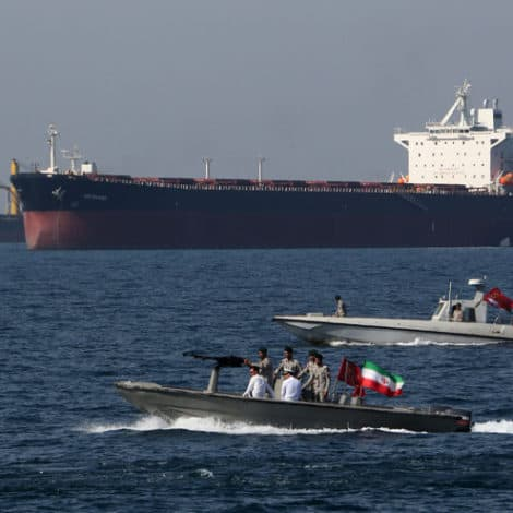 BREAKING: Iran Says They Have 'Seized British Oil Tanker' in the Straits of Hormuz