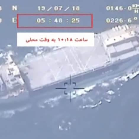BREAKING NOW: Iranian Forces Seize Second British Ship in Straits of Hormuz
