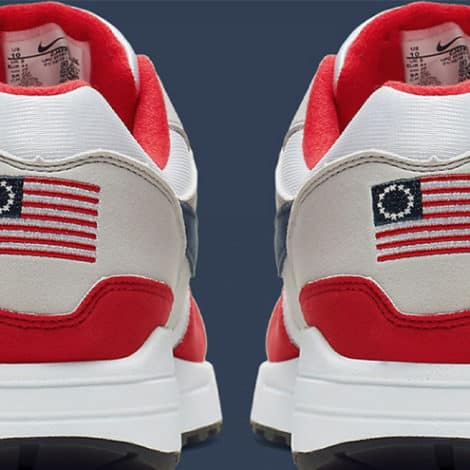 NIKE NIXES FLAG: Nike Ditches 'America' Themed Sneaker After Kaepernick Complaint, Claims 'Racist' Symbolism