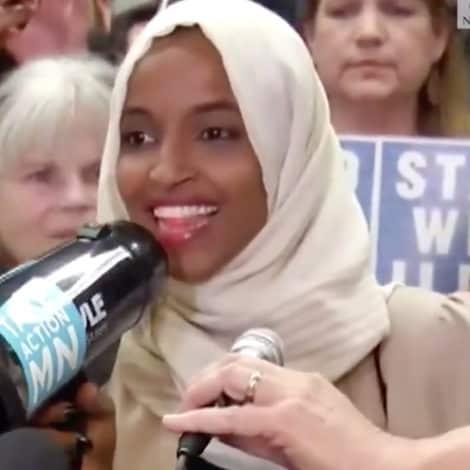 OMAR DIGS IN: Ilhan Omar Vows to Remain 'Trump's Nightmare' After Arriving at Minn. Airport