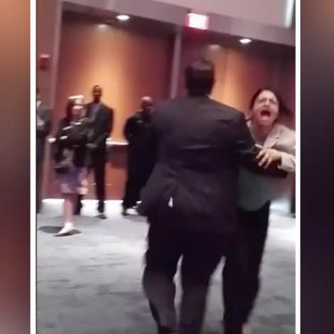 FOUND FOOTAGE: Video Surfaces of Rashida Tlaib 'Physically Dragged' from Trump Event in 2016