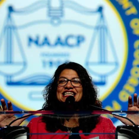 SQUAD GOALS: Rashida Tlaib Says She'll Take Money from the Rich and 'Give to Those Who Earned It'