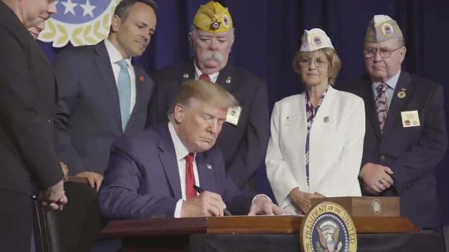 Partner Content - AMERICAN HEROES: President Trump Signs Executive Order Forgiving Student...