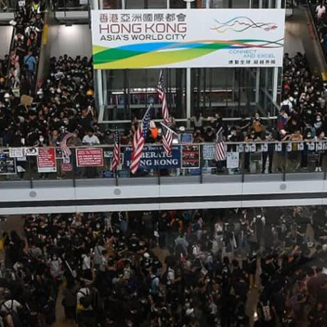 DEVELOPING: Beijing Says Pro-Democracy Protests in Hong Kong Similar to 'Terrorism'
