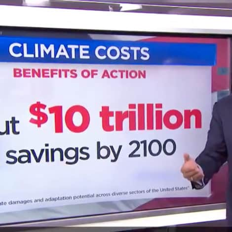 CONSPIRACY TV: MSNBC Host Claims Bernie's $16 TRILLION Climate Plan Will Actually SAVE $10 TRILLION