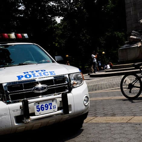 OUT OF CONTROL: 'Chunk of Concrete' Hurled at NYPD Officers in Manhattan's Central Park