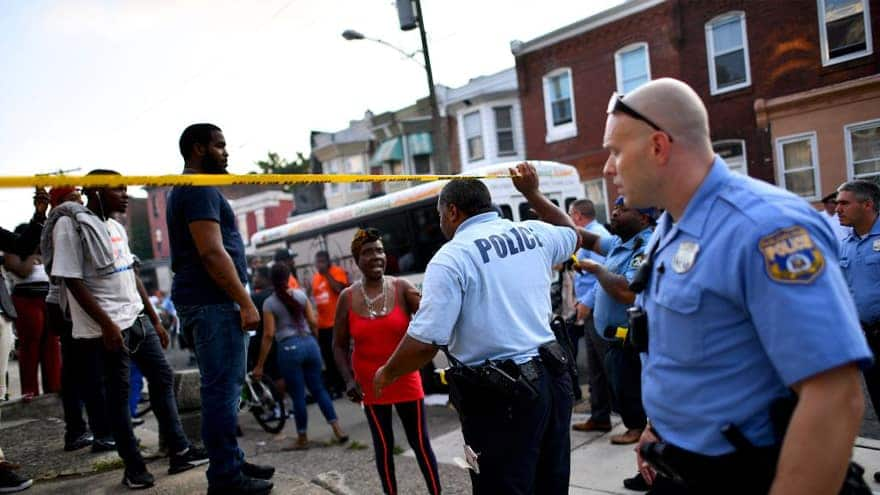 Partner Content - 'EXTENSIVE RECORD': Philadelphia Police Shooting Suspect Arrested 12 TIM...