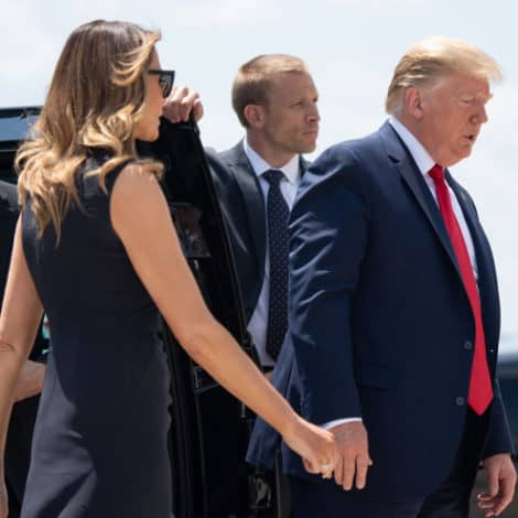 TRUMP IN OHIO: President Trump Visits Dayton to Meet with Victims, First Responders of Mass Shooting