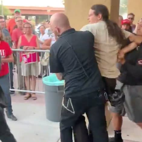 REPORT: Man Arrested at Elizabeth Warren Town Hall in Arizona for 'Assaulting' Trump Supporters