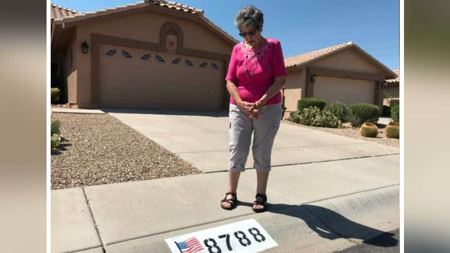 Partner Content - OLD GLORY DENIED: 82-Year-Old Grandmother Told to Remove US Flag Paintin...